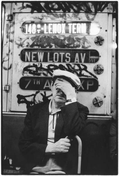 Neil Libbert: a witness to events. Bridgeman Collections Gems New York Subway, 1960 (b/w photo) / © Neil Libbert / Bridgeman Images