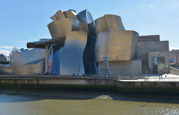 North Facade - Guggenheim Museum in Bilbao (Spain) opened in 1997, architect Frank Owen Goldberg, known as Frank Owen Gehry (born in 1929) (photo), Gehry, Frank (b.1929) / Bridgeman Images