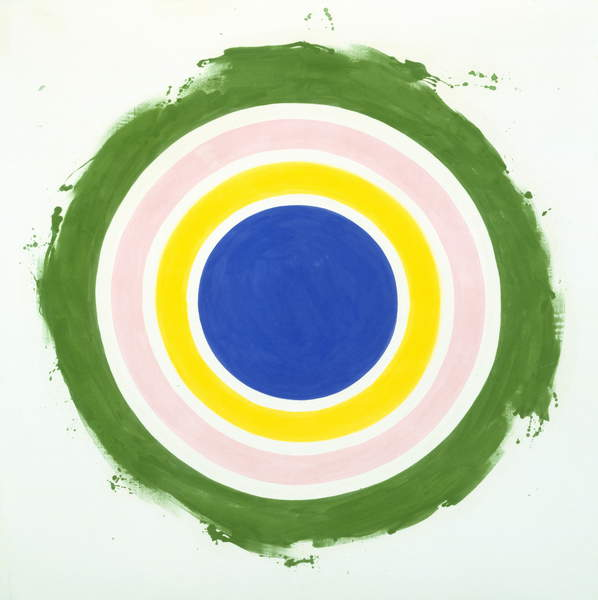 Half, 1959 (acrylic on canvas), Noland, Kenneth (1924-2010) / Museum of Fine Arts, Houston, Texas, USA / gift of Mr. and Mrs. Meredith Long / Bridgeman Images