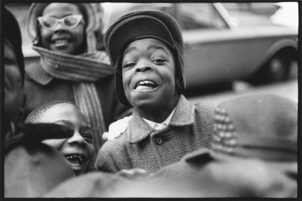Neil Libbert: a witness to events. Bridgeman Collections Gems Boys in Harlem, New York, 1960 (b/w photo) / © Neil Libbert / Bridgeman Images