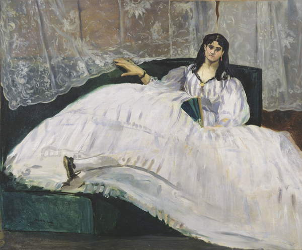 Portrait of Jeanne Duval, 1862 (oil on canvas), Edouard Manet (1832-83) / Museum of Fine Arts (Szepmuveszeti) Budapest, Hungary / Bridgeman Images