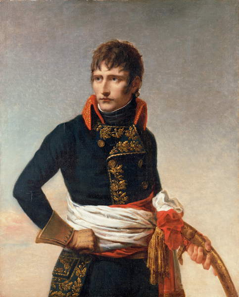 Portrait of Napoleon Bonaparte (1769-1821), as First Consul, three-quarter length, holding a sabre (oil on canvas), Andrea Appiani the Elder (1754-1817) / Private Collection / Photo © Christie's Images