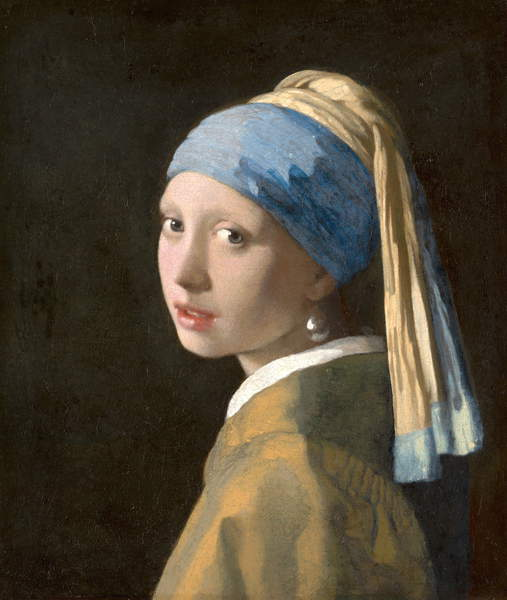 Girl with a Pearl Earring, c.1665-6 (oil on canvas), Jan (Johannes) Vermeer (1632-75) / Mauritshuis, The Hague, The Netherlands / Bridgeman Images