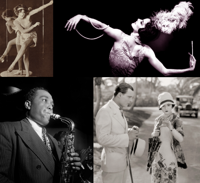 1920 images and photos of Jazz, Charleston & flappers