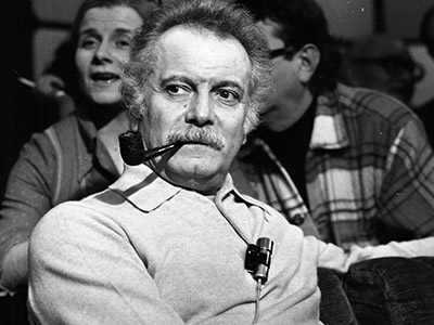 Georges Brassens, 1974 (photo) / © Louis Monier / Bridgeman Images