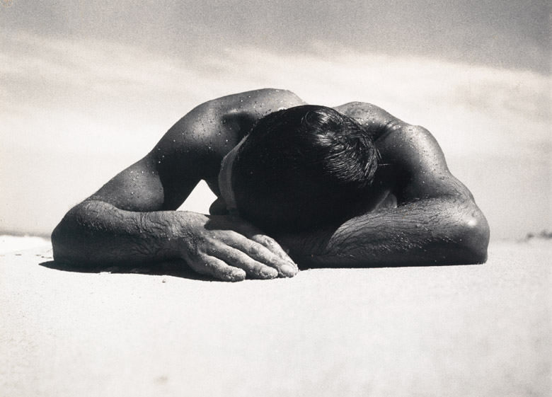 Sunbaker, 1937 (gelatin silver photo), Max Dupain, National Gallery of Victoria, Melbourne, Australia /  Bridgeman Images