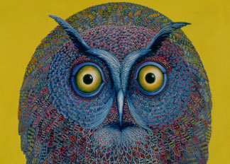 Long-eared Owl, 1996, Tamas Galambos (Contemporary Artist) / Private Collection