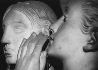 First secret whispered to Venus, 1839 (marble) Francois Jouffroy (1806-1882) / Louvre / B. de Sollier & P. Muxel