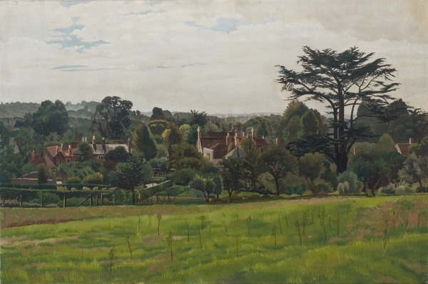 Pound Field, Cookham, 1935, Stanley Spencer, Southampton City Art Gallery, Hampshire, UK / Bridgeman Images