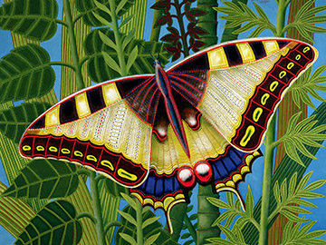 Butterfly, Tamas Galambos / Private Collection / Bridgeman Images