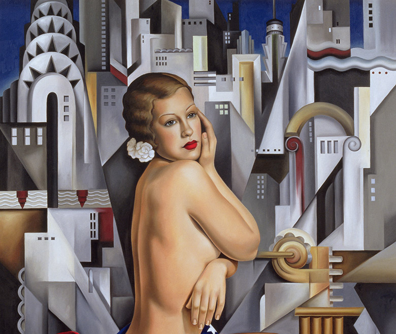 The Beauty of Her (detail) by Catherine Abel / Bridgeman Studio