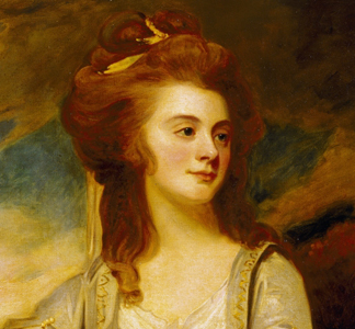 USB393011 Jemima Pole Carew (oil on canvas) by George Romney/ Antony House, Cornwall, UK/ National Trust Photographic Library, John Hammond