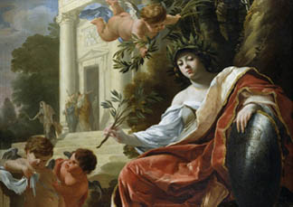 An Allegory of Peace by Simon Vouet (1590-1649) Chatsworth House, Derbyshire, UK © Devonshire Collection