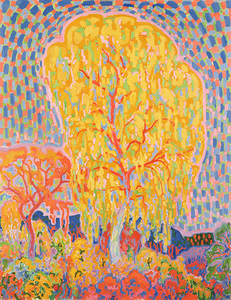 Autumn tree, Leo Gestel (1881-1941) / Haags Gemeentemuseum, The Hague / Bridgeman Images