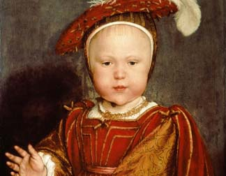 Portrait of Edward VI as a child, c.1538 Hans Holbein the Younger (1497/8-1543) / National Gallery of Art, Washington DC