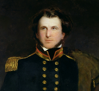 RGS34057 Sir James Clark Ross by Henry William Pickersgill/ Royal Geographical Society, London, UK