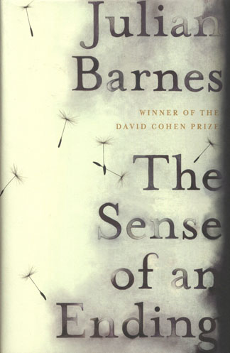 Suzanne Dean's design for The Sense of an Ending by Julian Barnes (published by Random House). N.B. Not our image