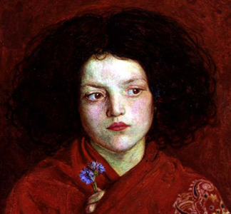 The Irish Girl, 1860 by Ford Madox Brown / Yale Center for British Art, Paul Mellon Fund