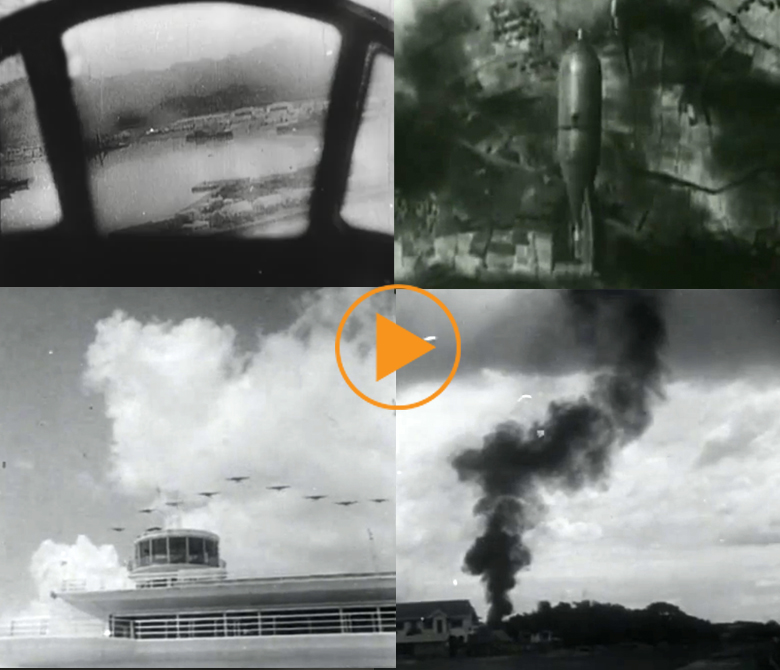 Attack to Pearl Harbour and Manila / Bridgeman Footage