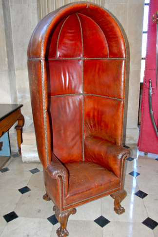 The Porter's Chair in the Great Hall, Blenheim Palace