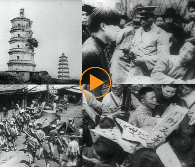 Civil War in China, 1927 / Bridgeman Footage