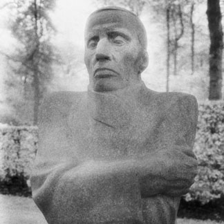 Statue, German Cemetery, Vladslo by Simon Marsden (b.1948) The Marsden Archive, UK