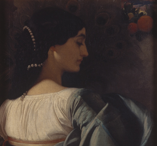 Nanna (Pavonia) 1859 by Frederic Leighton/ The Royal Collection © 2011 Her Majesty Queen Elizabeth II