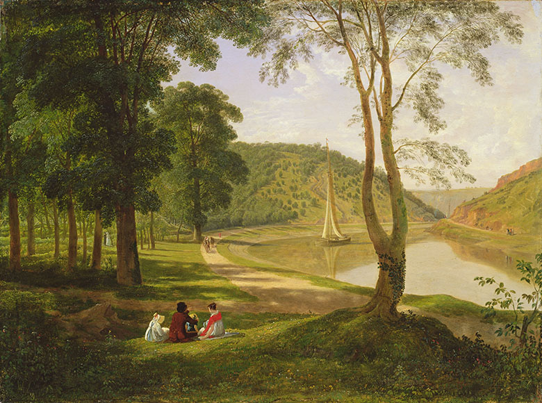 View of Avon Gorge, 1822 by Francis Danby (1793-1861) / © Bristol Museum and Art Gallery, UK