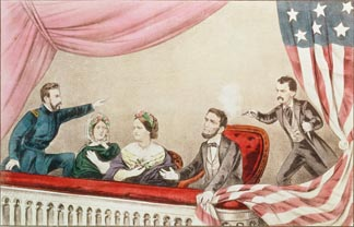 Assassination of Abraham Lincoln Currier, N. (1813-88) and Ives, J.M. (1824-95) / Collection of the New-York Historical Society, USA