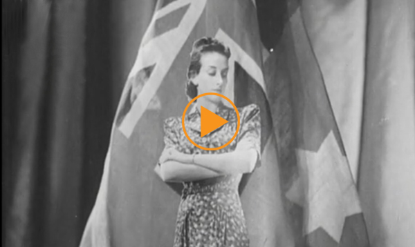 Fashions for Victory - Australian WWII public information film about acceptable ration clothing for women during wartime / Australian War Memorial / Bridgeman Footage