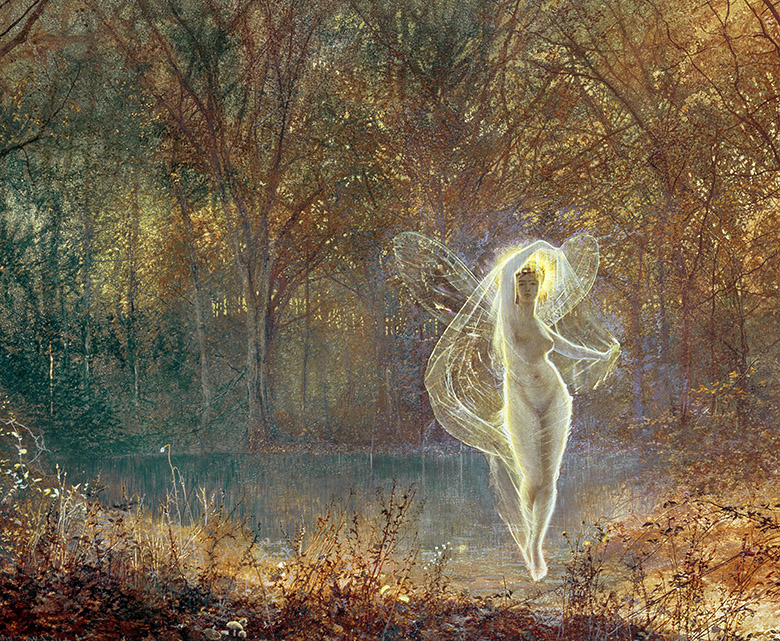 Autumn, 1871, John Atkinson Grimshaw (1836-93) / Roy Miles Fine Paintings / Bridgeman Images