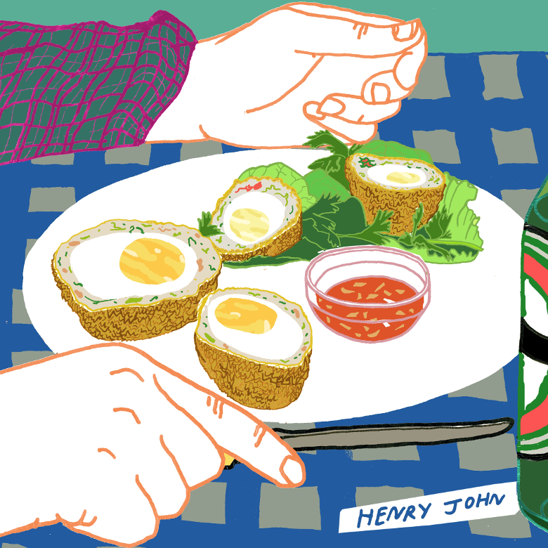 Scotch Eggs / Henry John / Bridgeman Images