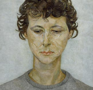 Head of a woman (Lady Anne Tree), c.1950 by Lucian Freud (1922-2011) / Chatsworth House, Derbyshire, UK / © Devonshire Collection, Chatsworth © The Lucian Freud Archive