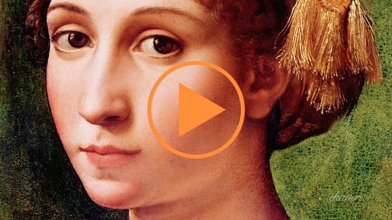 Portrait of a Young Girl - Raphael