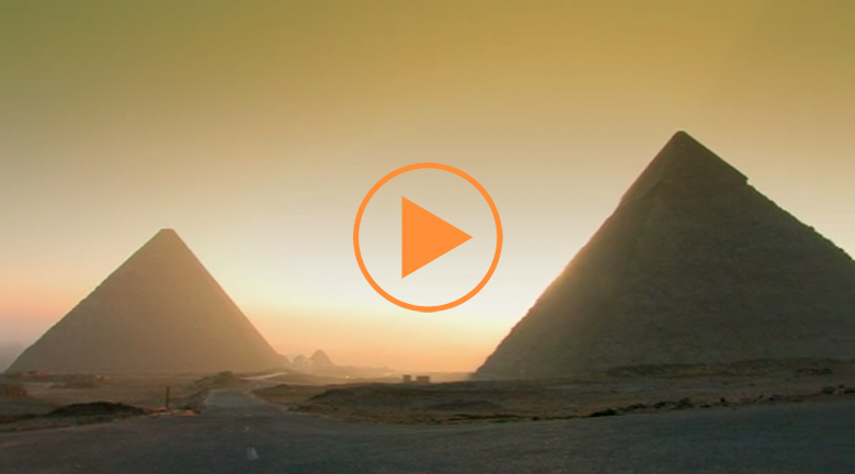 Sunrise at Giza
