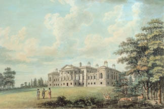 Harewood House, South Front (w/c on paper), Thomas Malton Jnr.(1748-1804) / © Harewood House Trust