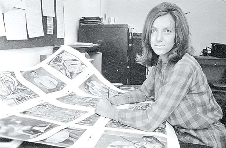 Starting out: Harriet Bridgeman during the founding years of the Bridgeman Art Library.