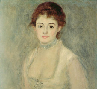 Madame Henriot, c. 1876 by Pierre Auguste Renoir/ National Gallery of Art, Washington, DC