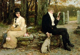The Waning Honeymoon, 1878 by George Henry Boughton (1833-1905) © Walters Art Museum, Baltimore, USA