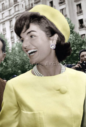 Jackie Kennedy in Paris, 1961©Rue des Archives/AGIP
