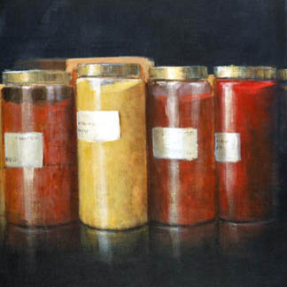 Pigment Jars by Lincoln Seligman (Contemporary Artist)