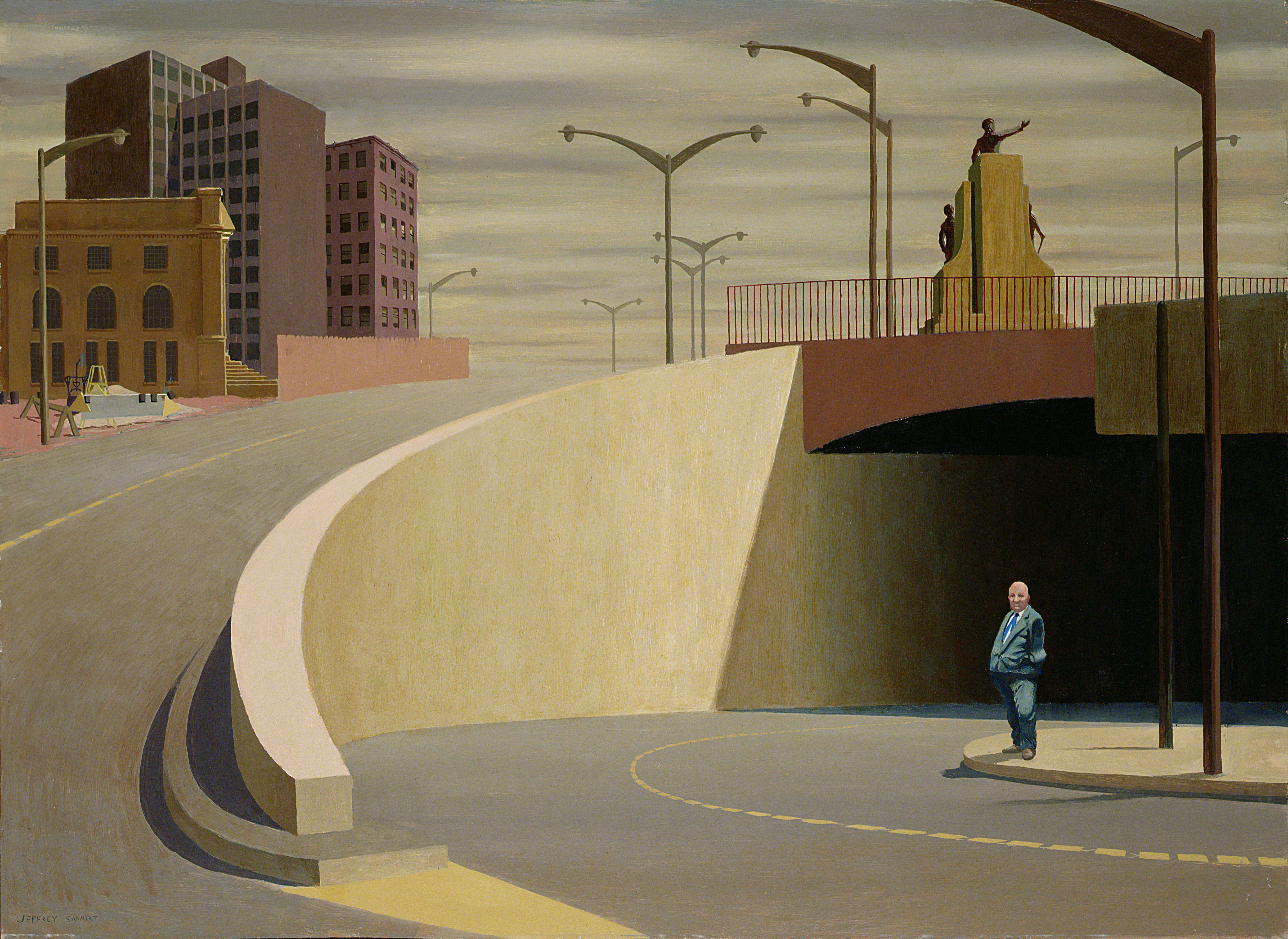 Cahill Expressway, 1962/ Jeffrey Smart