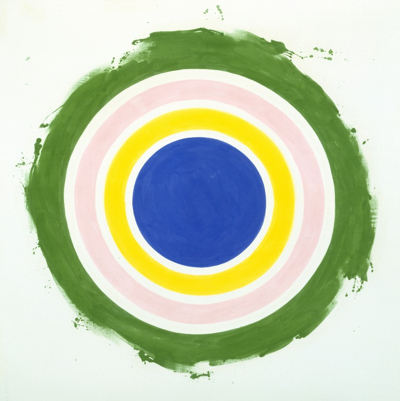 Half / Kenneth Noland / Museum of Fine Arts, Houston / gift of Mr. and Mrs. Meredith Long / Bridgeman Images