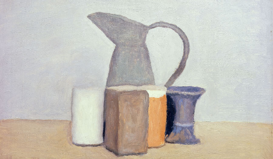 Still Life; Natura Morta / Giorgio Morandi / Private Collection / Photo © Christie's Images / Bridgeman Images