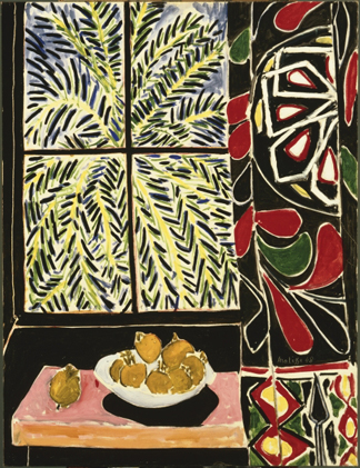 Interior with Egyptian Curtain, 1948 by Henri Matisse (1869-1954) The Phillips Collection, Washington, D.C., USA