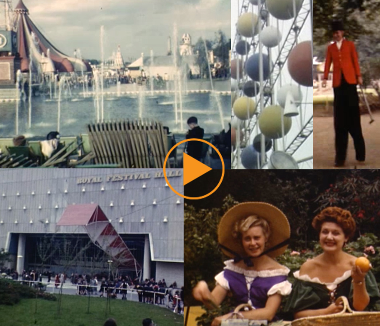 Festival Of Britain, 1951 / North West Film Archive at Manchester Metropolitan University / Bridgeman Images