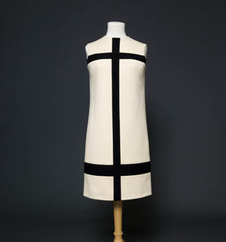 Margot Fonteyn's dress designed by Yves Saint Laurent, 1965 Fashion Museum, Bath and North East Somerset Council