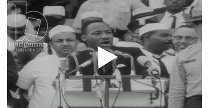 Click to play video and audio excerpts from the speech