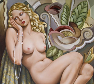 Opium Dreamer by Catherine Abel (b.1966) (Contemporary Artist)