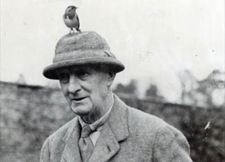 Edward Grey, 1st Viscount Grey of Fallodon (b/w photo) by English Photographer, (20th century) Private Collection